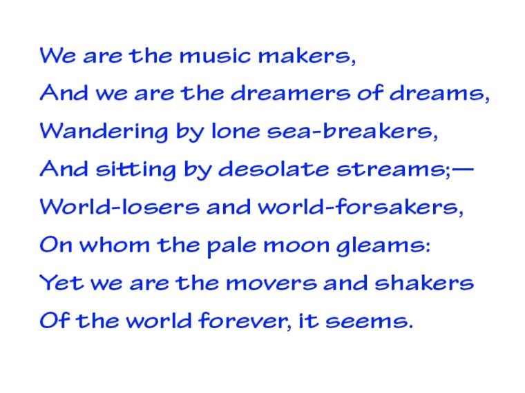 dreamers of dreams
