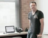 Jim in office